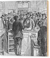 Immigration: Citizenship Wood Print