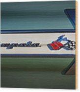 Impala Brightwork Wood Print by Douglas Pittman