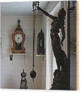 In The Clock Museum Wood Print