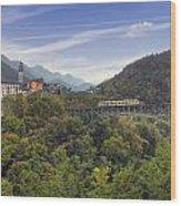 Intragna - Ticino Wood Print