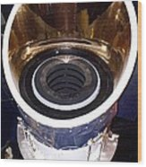 Iras Infrared Astronomy Satellite Wood Print by Mark Williamson