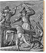 Ireland: Cruelties, C1600 Wood Print