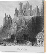 Ireland: Rock Of Cashel Wood Print