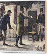 Irish Land League, 1881 Wood Print