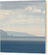 Isle Of Wight Wood Print