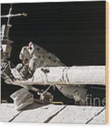Iss Maintenance Wood Print