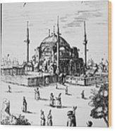 Istanbul: Hagia Sophia Wood Print