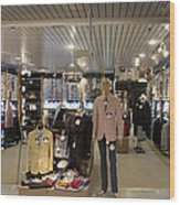 Italian Fashion Shop For Men Tallinn Wood Print