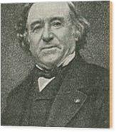 Jean Baptiste Dumas, French Chemist Wood Print