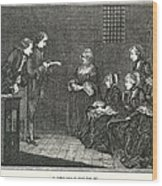 Jean Calas (1698-1762) Wood Print