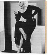 Jean Harlow, 1932 Wood Print by Everett