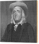 Jeremy Bentham (1748-1832) Wood Print