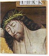 Jesus: Crucifixion Wood Print