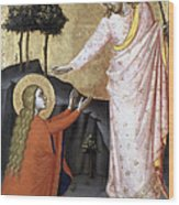 Jesus: Resurrection Wood Print