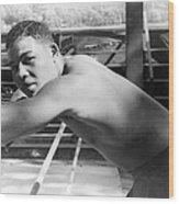 Joe Louis (1914-1981) Wood Print