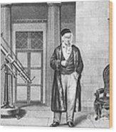 Johann Carl Friedrich Gauss, German Wood Print