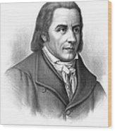 Johann Heinrich Pestalozzi, Swiss Wood Print