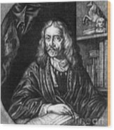 Johannes Hevelius, Polish Astronomer Wood Print by Science Source