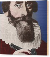 Johannes Kepler, German Astronomer Wood Print by Science Source