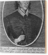 John Donne (1573-1631) Wood Print
