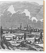 John Franklin Expedition Wood Print