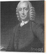 John Harrison, English Inventor Wood Print