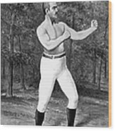 John L. Sullivan (1858-1918) Wood Print