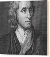 John Locke, English Philosopher, Father Wood Print