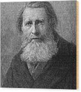 John Ruskin (1819-1900) Wood Print