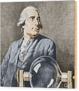 Joseph-michel Montgolfier, French Wood Print