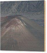 Ka Lua O Ka Oo Haleakala Volcano Maui Hawaii Wood Print