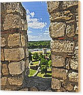 Kalemegdan Fortress In Belgrade Wood Print