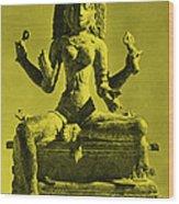 Kali Wood Print by Photo Researchers