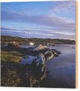 Kenmare Bay, Dunkerron Islands, Co Wood Print