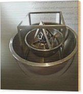 Kepler's Cosmological Model Wood Print