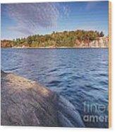 Killarney Provincial Park In Fall Wood Print