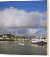 Killybegs Harbour, Co Donegal, Ireland Wood Print
