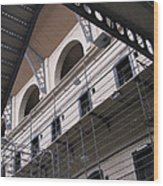 Kilmainham Gaol Wood Print by Arlene Carmel