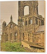 Kirkstall Abbey Wood Print