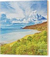 Komodo Bay Wood Print
