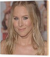 Kristen Bell At Arrivals For You Again Wood Print