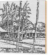 Kukio Estate Wood Print