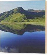 Kylemore Lake, Co Galway, Ireland Lake Wood Print