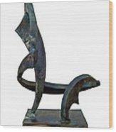 La Chaise Wood Print