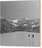 Lac Des Dix Wood Print
