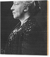 Lady Augusta Gregory Wood Print