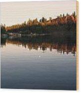 Lake  Wood Print