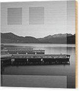 Lake Dillon Wood Print
