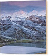 Lake Ercina Wood Print
