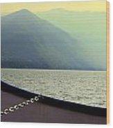 Lake Of Como Wood Print